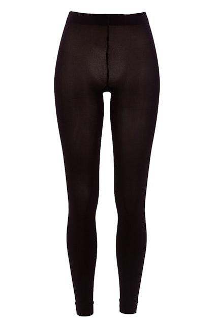 230c0c231dc35 Ambra Totally Black Footless Tights - Womens Leggings - Birdsnest Clothing  Online