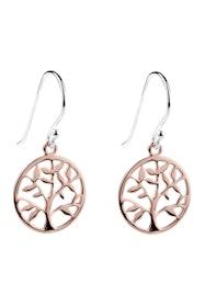 Spring Time Rose Gold Earrings