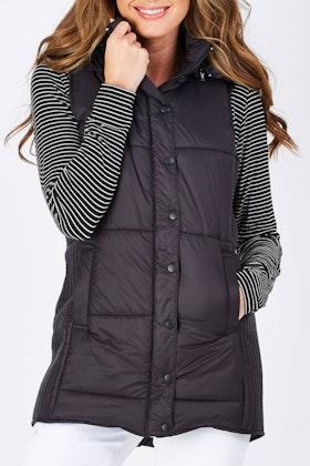 902b47f794 Betty Basics Jayce Long Puffer Vest