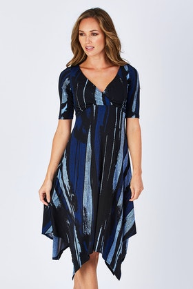 Rebecca Ruby Alantra Print Dress