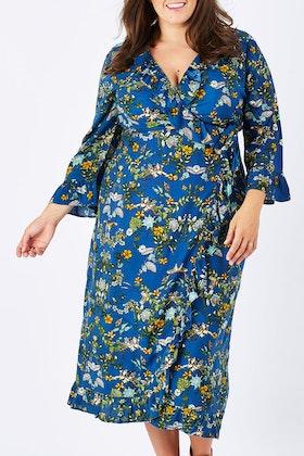 boho bird Frilled For You Dress