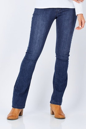 3f74ec04eef Lola Jeans Lauren Mid Rise Boot Cut