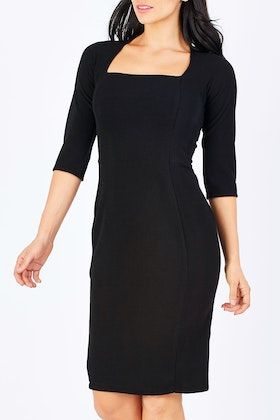 Sacha Drake Iris 3/4 Sleeve Dress