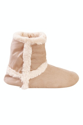 Ruby + Ed Natural Sheepy Calf Boot