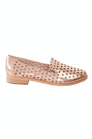 Queff Leather Flat