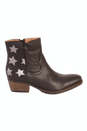 Walnut Porto Estela Leather Star Boot