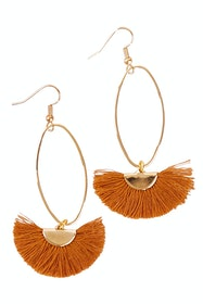 Caprioska Tassel Earrings