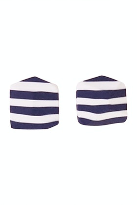 Greenwood Designs Striped Rock Hand-made Earrings
