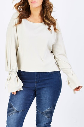 PQ Collection Cutting Edge Knit Top