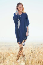 boho bird Floating On Clouds Dress