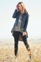 boho bird Forever Leather Jacket