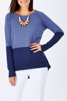 Natural for birds Natural Two Toned Sweater