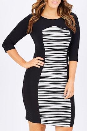 Y Stripe Dress