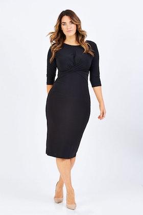 Y Cross Front Dress