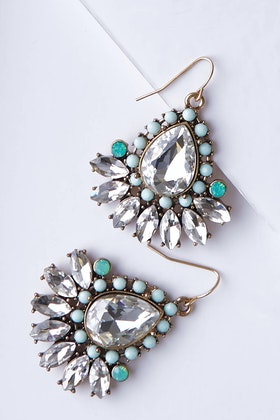Greenwood Designs Bling Medium Earrings