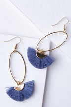 Isle & Tribe Caprioska Tassel Earrings