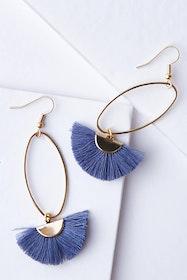 Caprioska Tassel Earrings