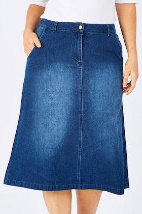 Yarra Trail Denim Skirt