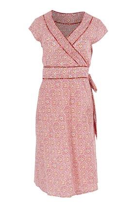 Boom Shankar Violet Wrap Dress