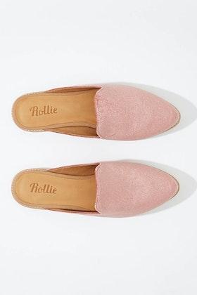 Rollie Madison Velvet Mule Flat