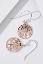 Najo Spring Time Rose Gold Earrings