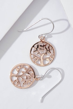 Najo Spring Time Rose Gold Earrings