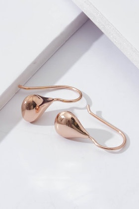 Najo Baby Tears Rose Gold Earrings