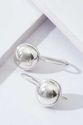 Najo Silver Glow Sterling Silver Earrings