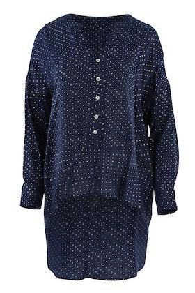 Threadz Spot Open Neck Shirt