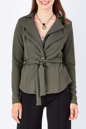 bird by design The Petal Fold Jacket
