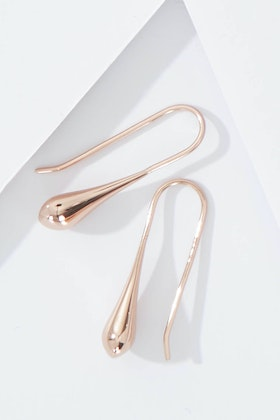 Najo My Silent Tears Rose Gold Earrings