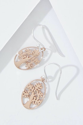 Najo Summertime Rose Gold Earrings