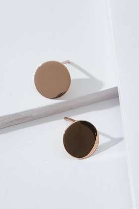 Najo Candy Rose Gold Stud Earrings