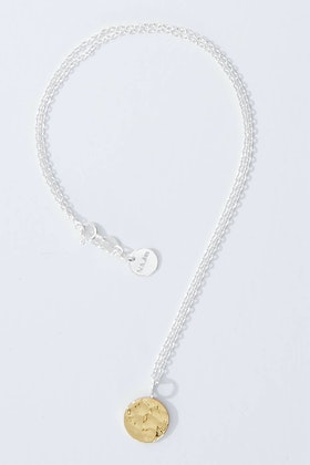 Najo Blaze Sterling Silver Necklace