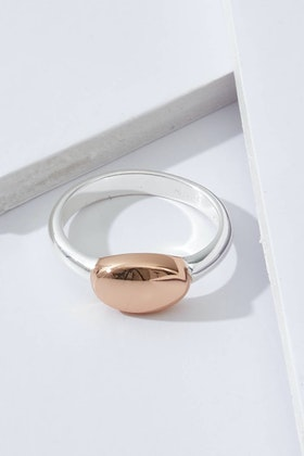 Najo Lozenge Sterling Silver Ring