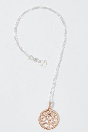 Najo Birdsnest Exclusive Rose Gold Springtime Necklace