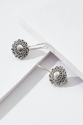 Najo Firenze Sterling Silver Drop Earrings