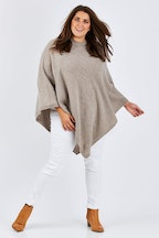 Everyday Cashmere V-neck Poncho