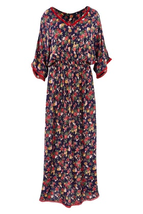 Naudic Flamingo Dress Roza Print