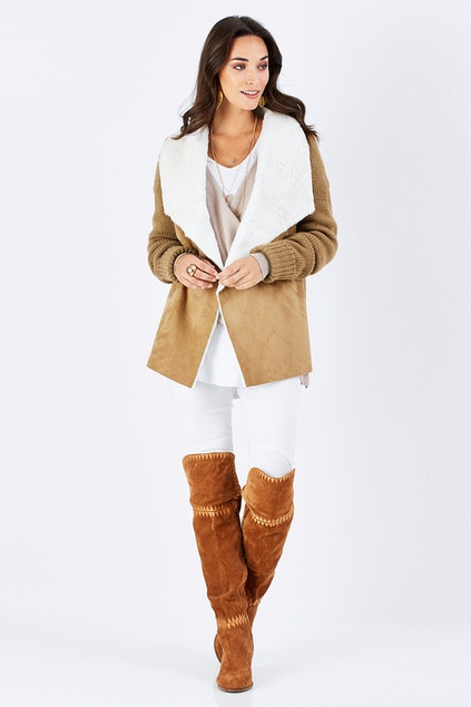c7a8da06f boho bird Warm Heart Jacket - Womens Jackets - Birdsnest Clothing Online