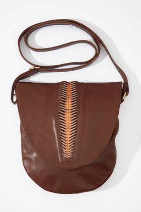 Barefoot Gypsy Harlow Crossbody Leather Bag