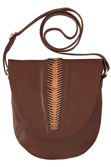 39bff45eff82 Barefoot Gypsy Harlow Crossbody Leather Bag - Womens Handbags ...