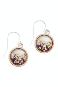 Joy Sterling Silver Drop Earrings
