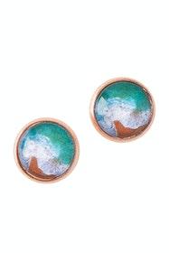 Sapphire Coast Stud Earrings