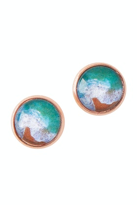 Nest Of Pambula Sapphire Coast Stud Earrings