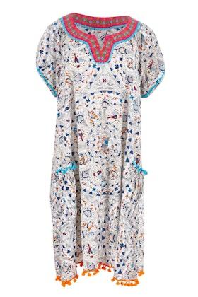 Naudic Sao Paulo Dress Dove Print