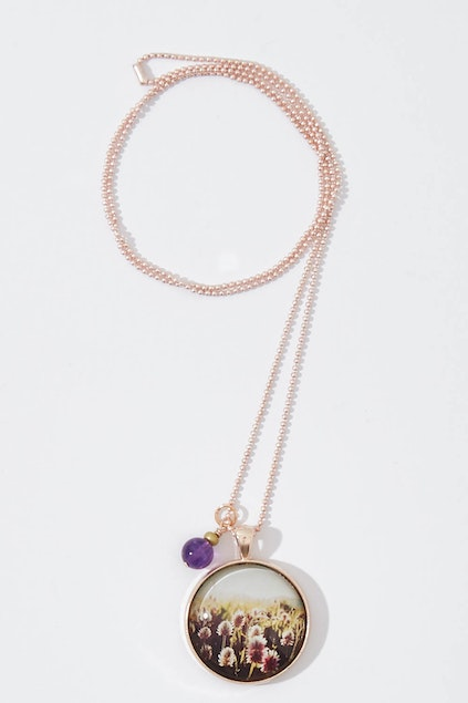 Nest of pambula joy pendant with amethyst stone necklace womens roll over to zoom aloadofball Gallery
