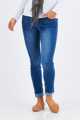 Wakee Jeans Lorna Mid Rise Skinny