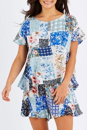 Naudic Pyjama Printed Set