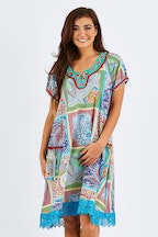 Naudic Sao Paulo Dress Mojito Print